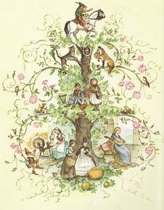 Tasha Tudor is my newest role model, so you may be seeing several of her pieces on this board   :}