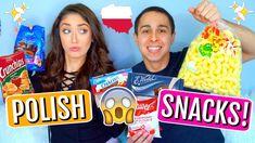 American Boyfriend & Girlfriend Taste Test Polish Snacks! | Trending Wit...