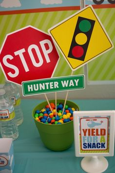 Transportation themed birthday party via Kara's Party Ideas | KarasPartyIdeas.com (34)