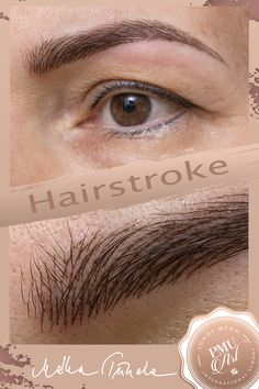Hairstroke eyebrow tattoo in the name of maximum natural effect :)