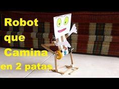 Robot Caminante en 2 patas (Fácil de hacer) walking robot - YouTube