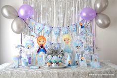 Frozen Pinata, Frozen Doll Cake, Frozen Dolls, Frozen Themed Birthday Party, Frozen 2, Birthday Parties, Frozen Party Decorations, Birthday Party Decorations, 6th Birthday Cakes