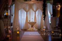 Wedding and Event backdrops are one of those things that can truly elevate an event. Here, Go To Event Rentals has collected the best of the best Back Drop Inspiration. Florida Wedding Venues, Central Florida, Event Venues, Special Events, Backdrops, Wedding Decorations, Reception, Indoor, Romantic
