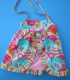 Baby Dress PDF Pattern - Four Patterns in One from simple sundress to layered ruffled dress