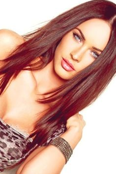 Love this hair!! Cut and color--and of course Megan Fox is always STUNNING!