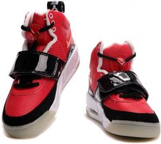 Womens Air Yeezy Shoes Red Black White Glow In The Dark 1d5db47e2