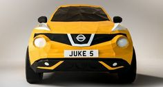 Így készült az Origami Nissan Juke | bevezetem.eu