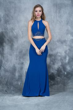 9e033ff9c17 Make an entrance in this Nina Canacci two-piece gown