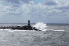 lighthouse and waves_8931 by Jan Atle  Monsen on 500px