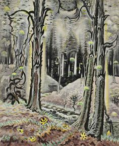CHARLES BURCHFIELD Maytime in the Woods (1948)