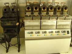 Jabez Burns Roasting Machines @ NYBOT by yehwan, via Flickr