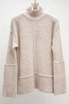 Sand Turtleneck Sweater by Closed