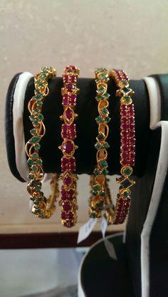 Emerald Ruby Bangles