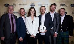 Observer Food Monthly Awards 2017 Nigella Lawson with winners of the Best Sunday Lunch award The Bookshop, A Rule of Tum, Hereford.