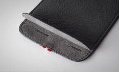Slim Italian leather pocket iPhone case by Hardgraft | Gear Catalogue