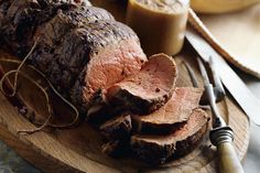 Chateaubriand - Roasted Beef Tenderloin with Wine Sauce ~ Five Star Recipe | about cooking ᘡղbᘠ