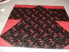 Kimono Quilt reversible by SewcialStudies101 on Etsy, $100.00