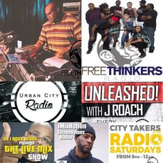 Saturdays are packed with Goodness for your weekend!! 11am The DJ Jesus Beats Show 2pm The Freethinkers Radio Show 3pm Urban City Radio 4pm Unleashed! with J Roach 6pm The Freethinkers Radio Show 7pm DJ I Rock Jesus 8pm Street Hymns Radio with DJ Sean Blu 9pm City Takers Radio App and Website on the Pinned Post!! #freethinkersradio #weekend #turnup - facebook.com/rlwonderland