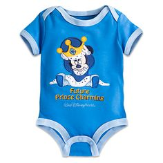 Mickey Mouse Prince Charming Bodysuit for Baby - Walt Disney World Disney Baby Clothes, Disney Outfits, Baby Disney, Mommy And Son, Mickey Mouse Shirts, Baby Boy Bedding, Little Boy Fashion, Prince Charming, Future Baby
