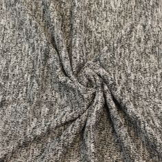 Black Silver Gray Soft Sweater Knit Fabric by the by StylishFabric cardigan