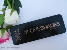DUSTCREAM | Face Palette #LoveShades (Echoes) : Μια παλέτα και φύγαμε