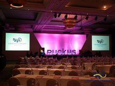 Conference Stage Set - Hilton Phuket Arcadia | Creative Concept Audio Visual, Phuket Thailand