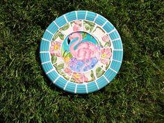 Mosaic Stepping Stone~Flamingo 2