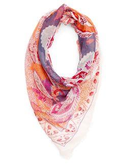 MANGO+-+Paisley+print+foulard