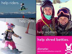 Shred Betties Team Rider: Claire Hewitt-Demeyer
