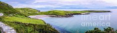 View To Sligo From Fintra Beach- Ireland by Lexa Harpell #panorama #landscape #Ireland #Sligo