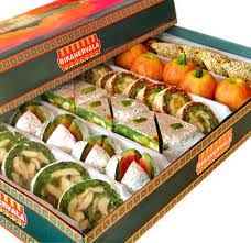Premium Sweets  1 Kg assorted Premium Mithai from Haldiram or Bikanerwala only.