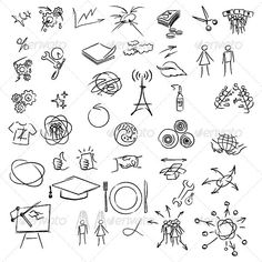 Freehand elements  #GraphicRiver         Freehand elements for design. Vector illustration on white background.     Created: 13February12 GraphicsFilesIncluded: VectorEPS Layered: Yes MinimumAdobeCSVersion: CS Tags: cell #circle #collection #cross #design #display #draw #drawing #element #environment #environmental #freehand #group #hand #icons #illustrator #info #information #isolated #label #line #little #noise #pencil #shape #sign #style #symbol #tag #vector