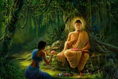 Buddha is the quest of knowledge that you search for...............