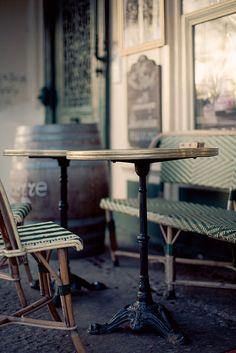 ~Paris cafe life