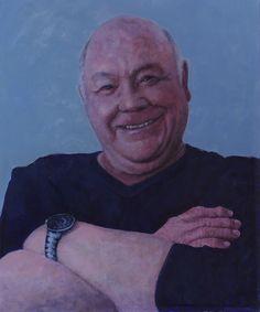 Portrait of John Shaw by R W Mountjoy 2017