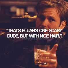 :) Wise works from Alaric....I still miss him! Maybe he'll come back to life like....Oh wait. that 's a spoiler. Nevermind. ;) If you wanna know, go read the books!