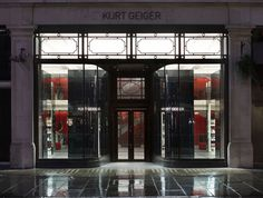 Kurt Geiger store at Regent Street by Found Associates, London store design