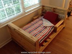 Pallet Bed for Toddlers More