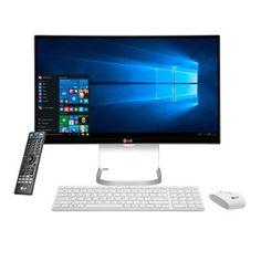"""Computador LG  All In One  27V750 Intel Core i5 4GB 1TB Webcam Full HD 27"""" Polegadas Windows 10 Branco"""