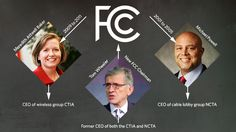 "ARTICLE: The revolving door ""isn't peculiar to the FCC. It's kind of everywhere you look..."" http://arstechnica.com/tech-policy/2014/04/washingtons-revolving-door-cellular-lobby-and-fcc-have-traded-leaders/ To sum up, the top cable and wireless lobby groups in the US are led by a former FCC chairman and former FCC commissioner, while the FCC itself is led by a man who formerly led both the cable and wireless lobby groups ...  """