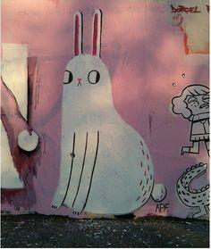 Street Art by Olesya Shchukina