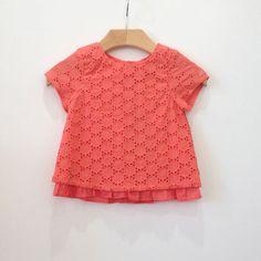 Lili Gaufrette Lace Shirt – Petite Étoile Children's Clothing Boutique in Salem, MA