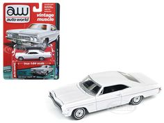 """Up to 45% Off + FREE Shipping. View Available Deals and Coupons for 1966 Chevrolet Impala Gloss White """"Auto Worlds Premium"""" 1/64 Diecast Model Car by Autoworld."""