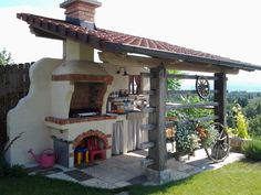 "Find out additional details on ""outdoor kitchen designs layout patio"". Look at our internet site. Backyard Kitchen, Summer Kitchen, Outdoor Kitchen Design, Outdoor Kitchens, Outdoor Cooking Area, Pizza Oven Outdoor, Rustic Outdoor, Outdoor Decor, Outdoor Ideas"