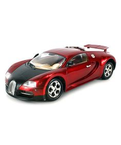 Loving this Red Super Sport Bugatti Electric Remote Control Car Set on #zulily! #zulilyfinds