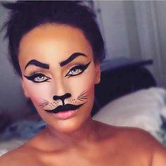 Easy Last-Minute Halloween Makeup Idea