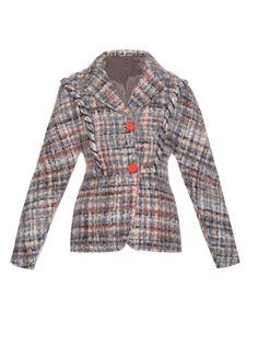Nella Lego brushed-wool jacket by Acne Studios | Shop now at #MATCHESFASHION.COM
