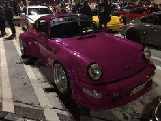 RWB at Tarumi parking Rauh Welt, Future Car, Porsche 911, Dream Cars, Japan, Vehicles, You Are Special, Cars, Futuristic Cars