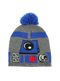 Star Wars R2-D2 Knit Pom Beanie ($14.92)