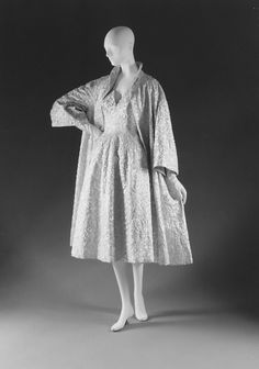House of Dior | Evening coat | French | The Metropolitan Museum of Art